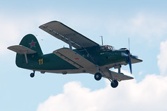 light aircraft(0.0), aviation(1.0), biplane(1.0), airplane(1.0), propeller driven aircraft(1.0), vehicle(1.0), antonov an-2(1.0), flight(1.0), aircraft engine(1.0), air force(1.0), air show(1.0),
