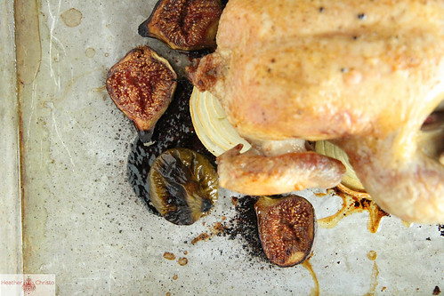 Roast Chicken and Figs