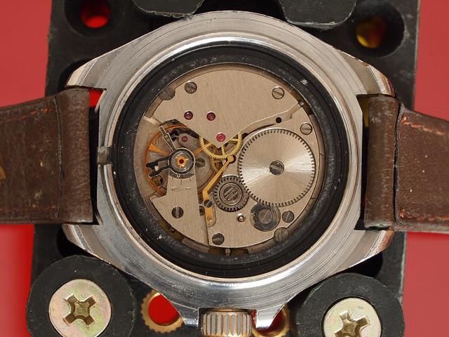 Vostok Komandirskie 3aka3 2414 Watch Movement Www