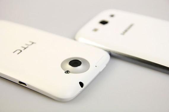 HTC One X y Samsung Galaxy S III