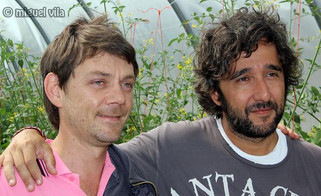 Santiago Pérez y Diego Guerrero
