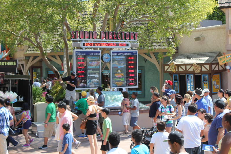 August 20 & 21 2012 – Park Update – Universal Studios Hollywood