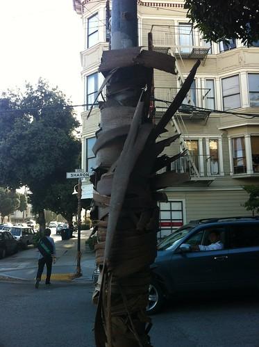 Bark bombing