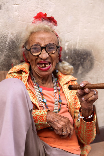 Cuban Lady with cigar | Explore TerryGeorge.'s photos on ...