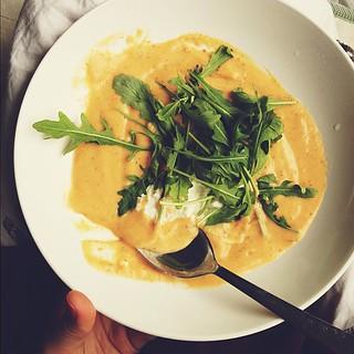 Vituttaa kun en muistanut instagramin syvintä merkitystä ja unohdin kuvata mun päivällisen!!!!!!!! Tässä siis #keittolounas korvauksena