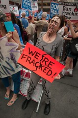 CREDO Action & New Yorkers Against Fracking Protest Gov. Cuomo's Plan to Frack New York