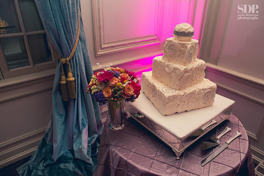 Hotel Phillips Kansas City wedding reception