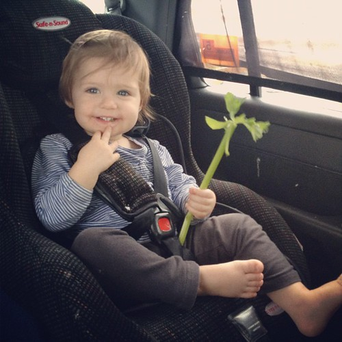 No one was ever this excited by celery before