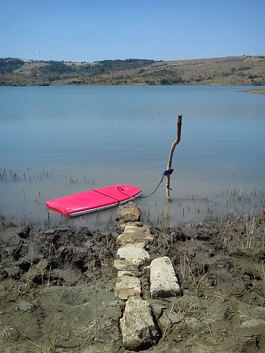 Swimtrekking Saetta Lake