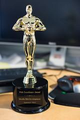 Web Excellence Award