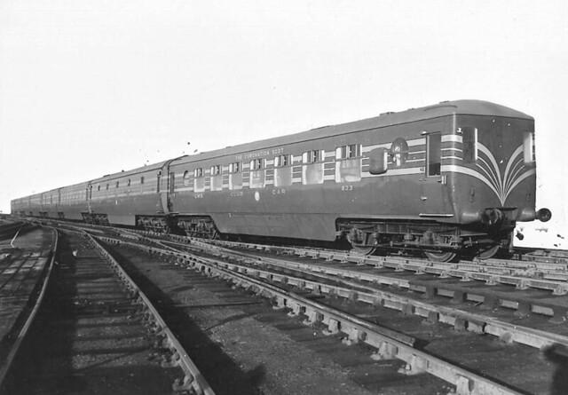 LMS Coronation Scot train