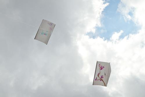 My kite + Melissa's