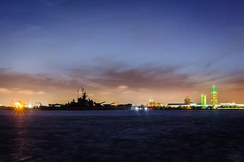city nature mobile skyline night town ship mobil ussbattleship pwpartlycloudy posnov viktorposnov