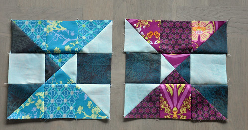 Blogger's BOM August blocks
