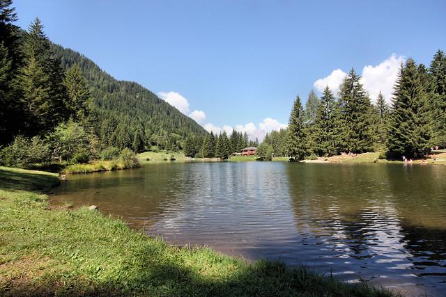 """Panorama del lago dei Caprioli """"Pellizzano (TN)"""""""