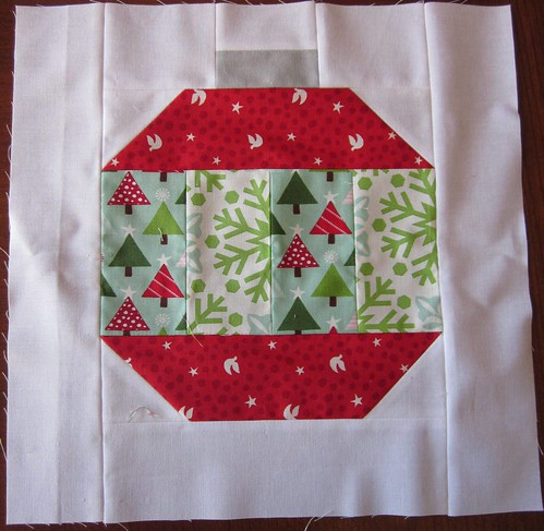 Vintage Holiday Block