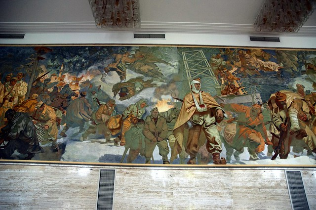 Mural detail vila bled concert hall flickr photo sharing for Concerts at the mural