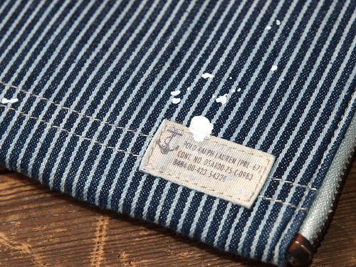 Ralph Lauren / Railroad Stripe iPad Case