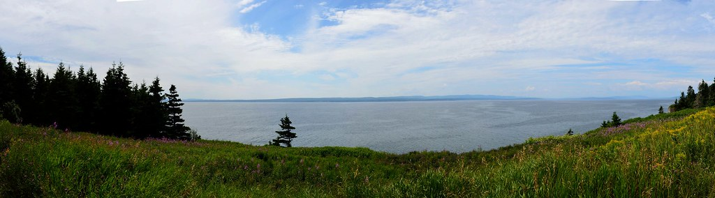 Forillon National Park. Cap Gaspe.