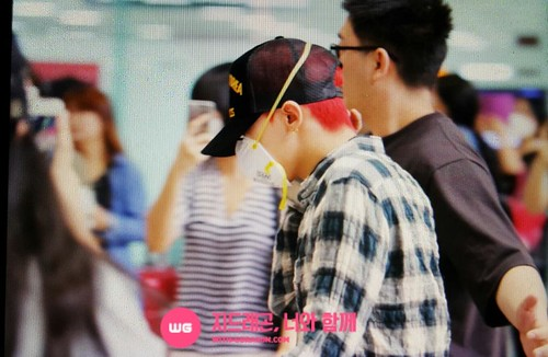 Big Bang - Gimpo Airport - 05jun2015 - G-Dragon - With G-Dragon - 01