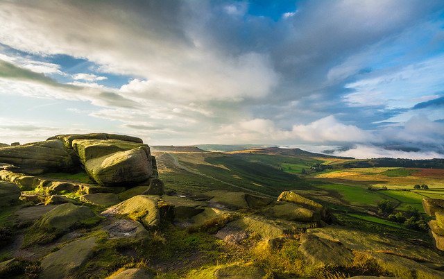 Morning on Stanage...