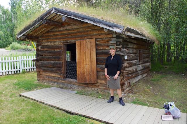 Jack London Cabin 1897 Dawson