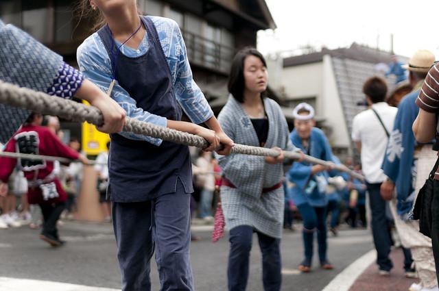 成田祇園祭 2日目