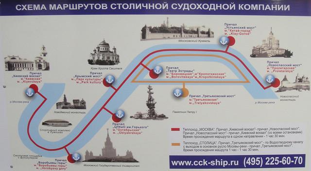 Croisière sur la Moskova