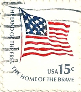 Usa stamp 1978 the land of the free the home of the b flickr