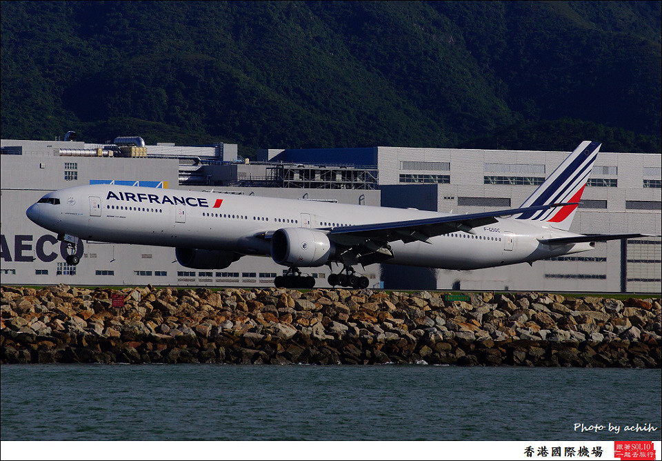 Air France / F-GSQC / Hong Kong International Airport