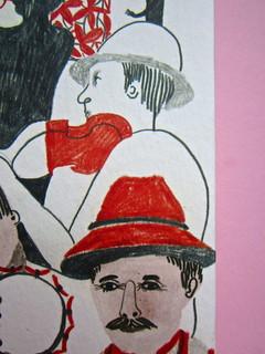 Sergio Pretto, Novecento Rom, CartaCanta 2012. Progetto grafico e logo: Oblique Studio, ill. di cop.: Sara Stefanini. Copertina (part.), 4