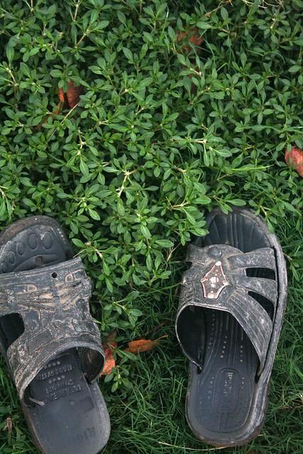 Traveller's sandals