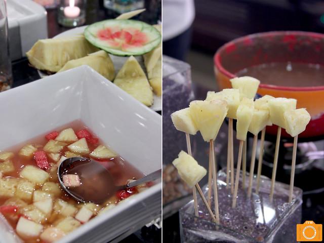 Sambokojin fruit desserts