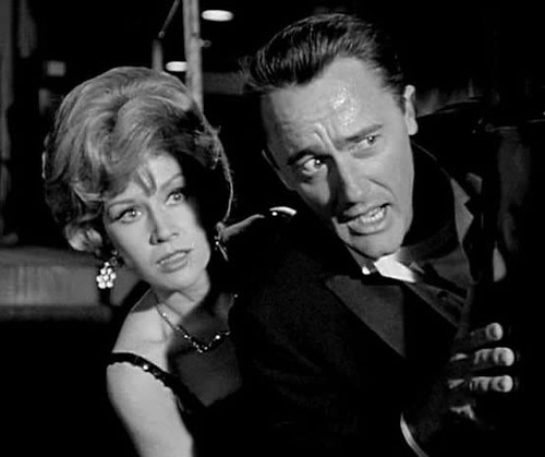 Pat Crowley and Robert Vaughn