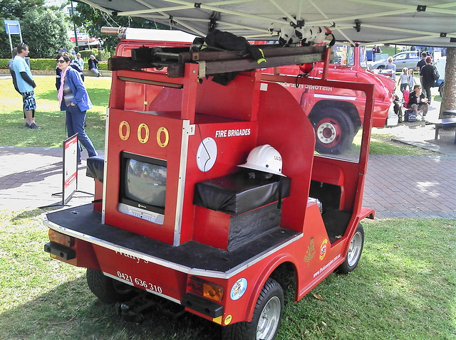 Fire Truck Golf Cart Bodies http://www.flickr.com/photos/aussiefordadverts/7572809980/