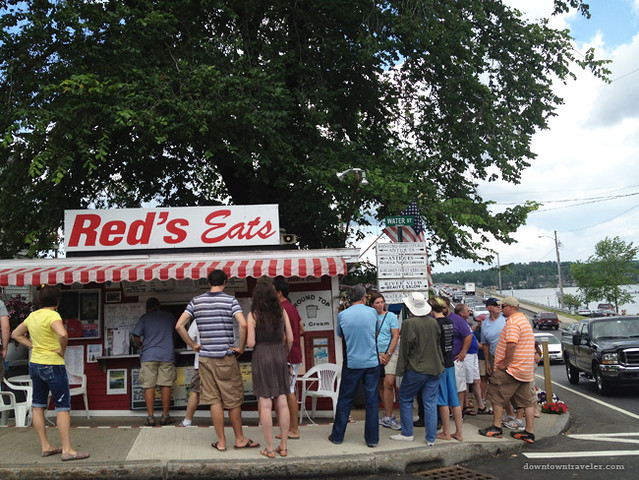 Reds Eats Lobster Roll Shack in Maine