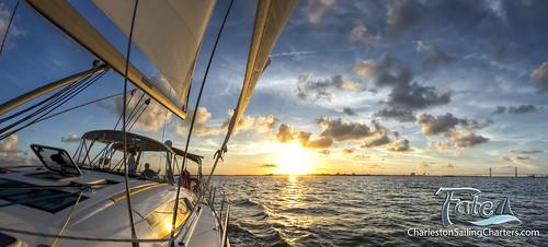sunset canon sailing south charleston 7d carolina 8mm rokinon