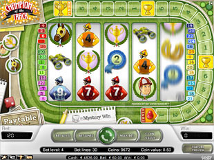 Champion of the Track - Free Online Slot Machine