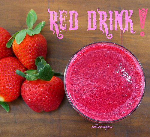 Red Drink! by sherimiya ♥