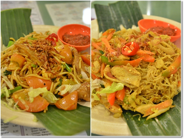 Fried Hailam Mee & Singapore Fried Bee Hoon