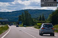 Débris sur l'autoroute A4 !
