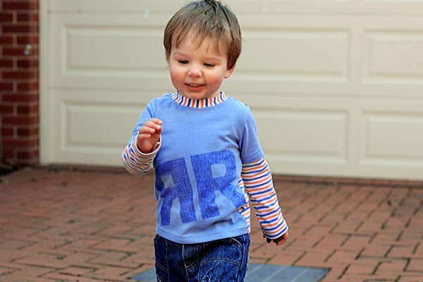 things for boys: Modern Monogramming for Kids