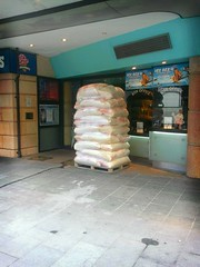Popcorn delivery - leicester square