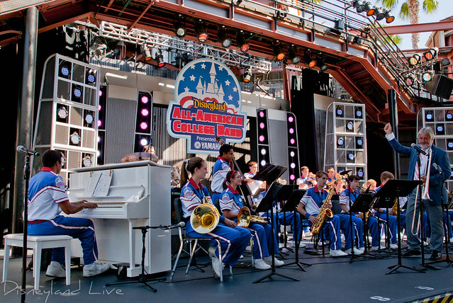 Jiggs Whigham and the 2012 Disneyland All American College Band