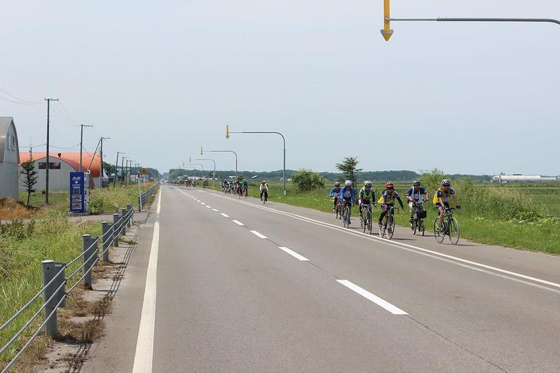オホーツクサイクリング2012の参加者 その3