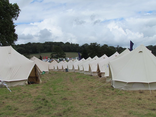 Hotel Bell Tent encampment