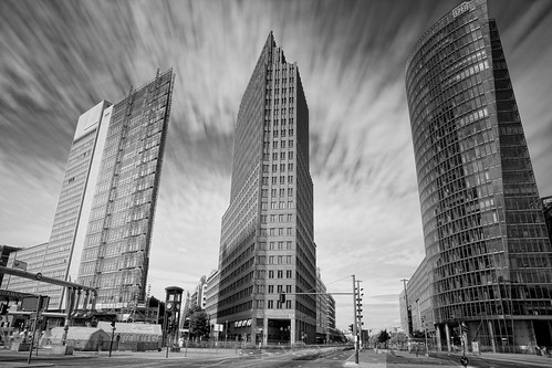 Potsdamer Platz, Sunday morning