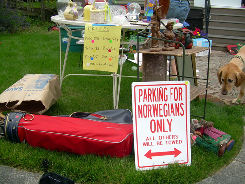 Parking For Norwegians Only