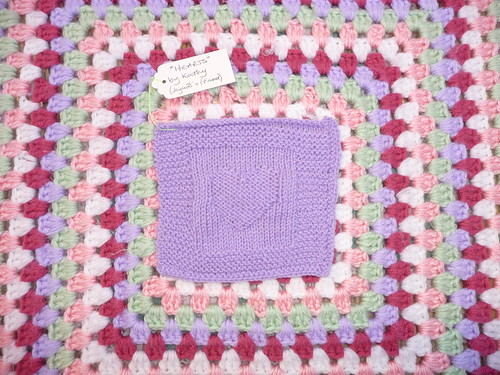Kathy (Friend of joyce28) Square for our Heart Challenge. Great thank you!