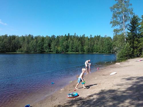 Excursión a la playa del lago